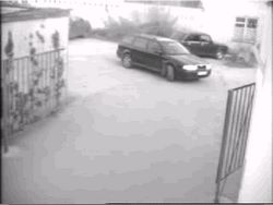 Заезд в гараж (видео, жесть)