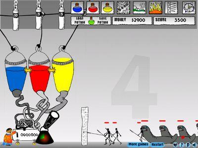 Флэш игра: мочим аццких тварей