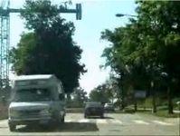 Ездить по аццким местам лучше на БТРе (видео)