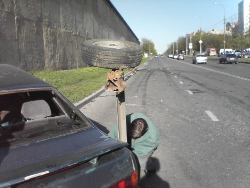 Курьезы на дорогах фото 141-29