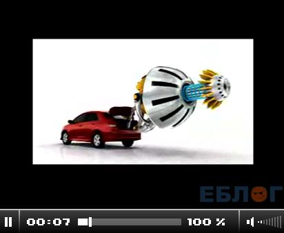 безумная реклама toyota yaris VS yaris.смортим обязательно.5 видео