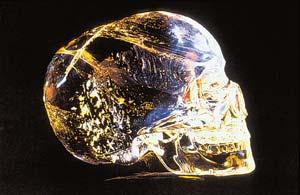 Хрустальный череп. Артефакт, возраст 12 тысяч лет (4 фото)