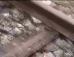 Норвежские ребята отрываются на железной дороге!