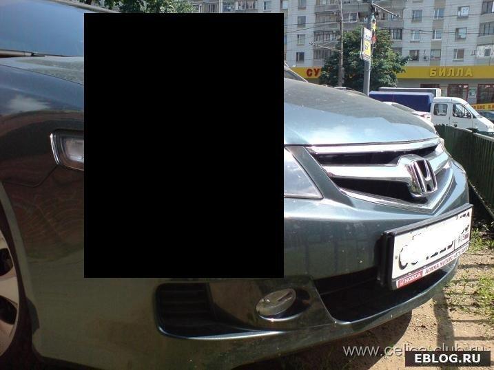 Шикарный девайс на Honda Accord. фото