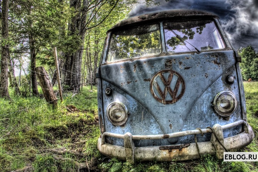 Красивые фотографии старых машин в HDR. 58 фото.