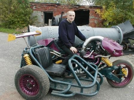 """Мотоцикл модели """"ацкий сотона"""" 8)))"""