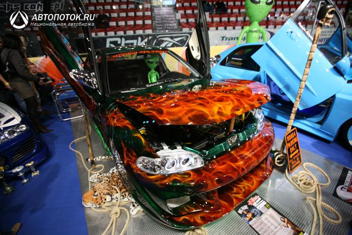 Супер-аэрография. X-TREME CAR SHOW HELSINKI 2007. 23 фото.