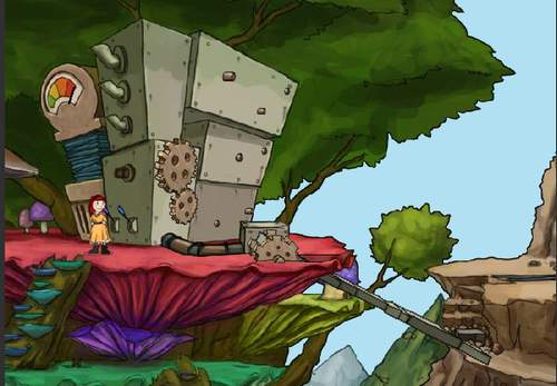 Игра: квест, решаем задачки - помагаем спасти кролика ^_^
