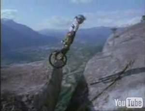 Человек-колесо
