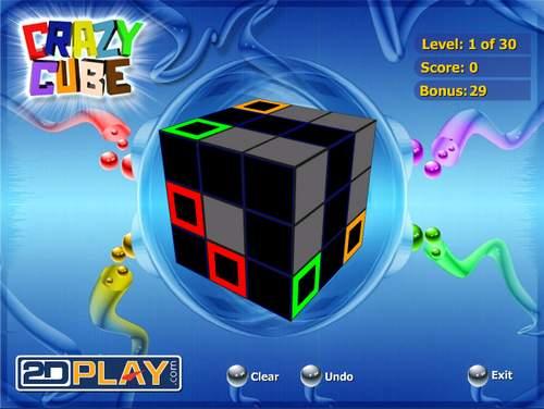 Игра - головоломка: кубик