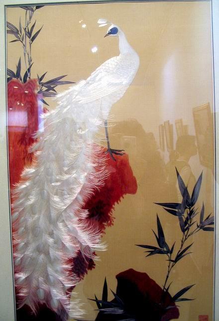 Красивая традиционная китайская шёлковая вышивка, 23 фото.