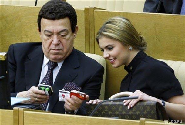 Алина Кабаева - блондинка в законе