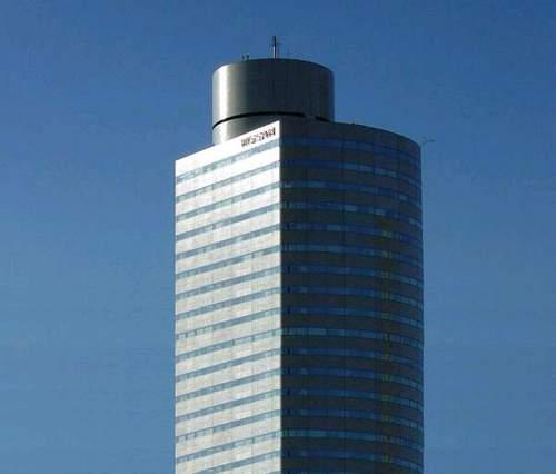 Самый высокий небоскрёб. Красивое фото.