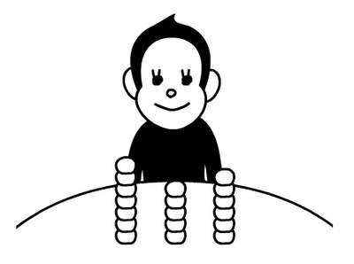 Игрушка: обхитрить обезьянку ^_^