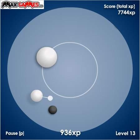 Игрушка: защита белого шара от черных