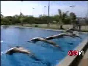 Тренировка чемпионов по плаванию! Видео жжот! :)))