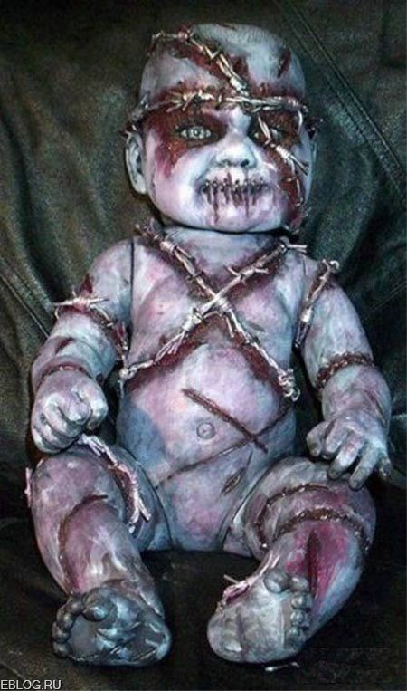 Детские куклы... Это ппц! 14 фото.