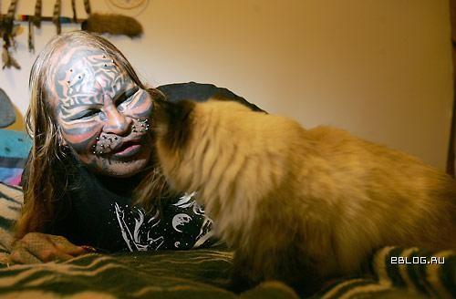 Встречайте: Человек - кот или Негей 2. 5 фото.