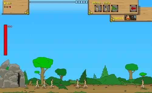 Игра: воюем с соседним племенем