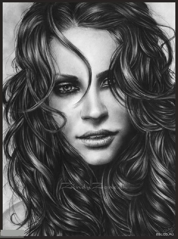 Потрясающие рисунки карандашом. 36 картинок.