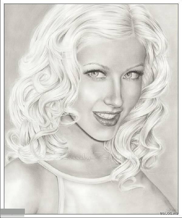 Картинки нарисованные девушки - красивые картинки карандашом.