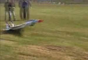 Запуск истребителя прошел без жертв. Случайно.
