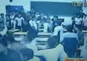 Разборка в китайской школе