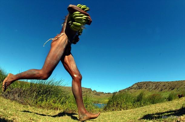 Что это за пати: тапати на острове пасхи ? голые люди бегают с бананами.