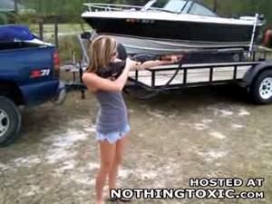 Ружьишко не для маленьких девочек
