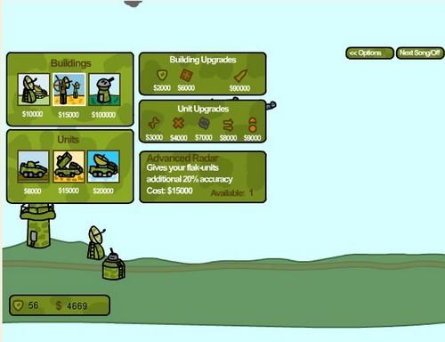 Игра: вставай страна - воздушная атака