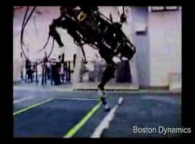 Полное, неурезанное видео про робота- ходуна. Не для слабонервных