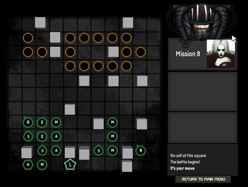 Игра: стратегически-позиционная головоломка.