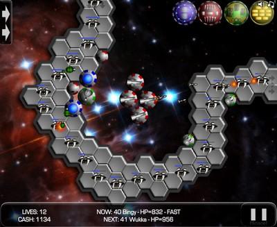Игра: защита от врагов, серия Tower Defence.