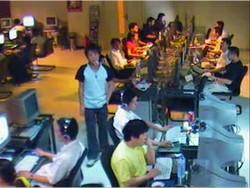 Гопнег в китайском интернет-кафе