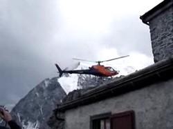 Вертолётчег выпендривается O_O