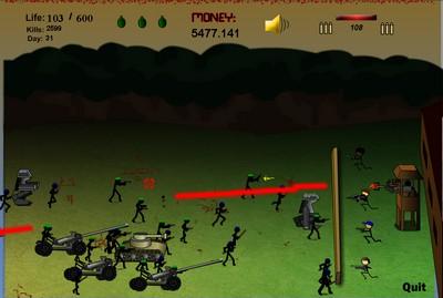 Игра: защита крепости