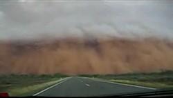 Внутри песчаной бури