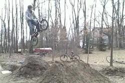 Экстим на велосипеде O_O
