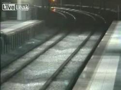 Экстрим на железной дороге